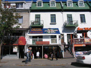 Chez Geeks on Saint Denis Street