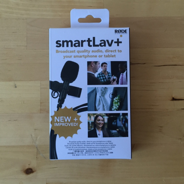 Jade Sambrook's new SmartLav+ lavalier microphone made by Rode